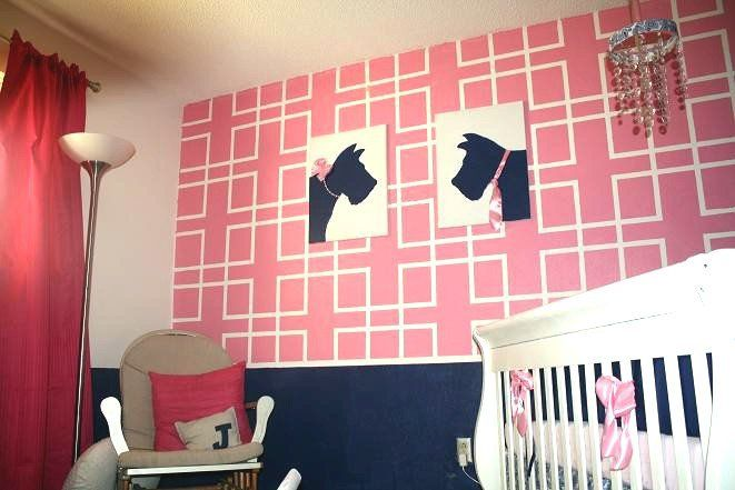 girl's preppy nursery