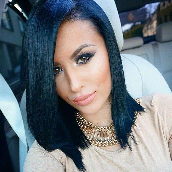 color de pelo negro azulado