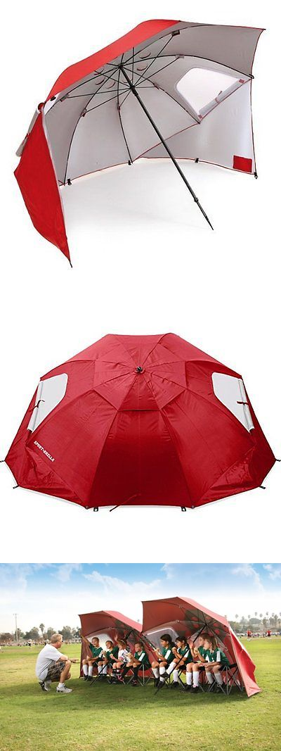 Tent and Canopy Accessories 36120: Sport-Brella Portable All-Weather And Sun Umbrella. 8-Foot Canopy. Red. -> BUY IT NOW ONLY: $54.99 on eBay!