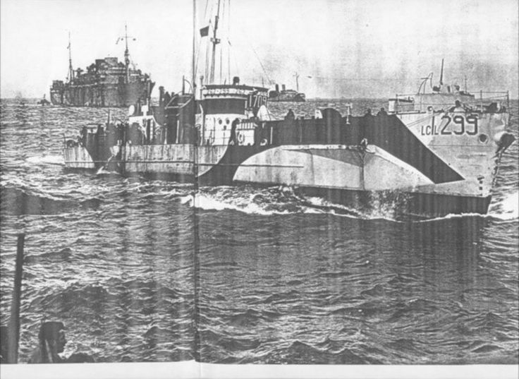 wwii d-day landing craft