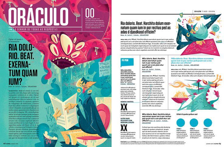 Super Interessante Magazine - Oráculo on Behance