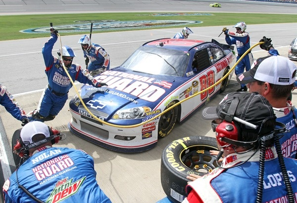 PHOTOS: Dale Earnhardt Jr. during the Aaron's 499 at Talladega Superspeedway. For more photos, visit http://x.co/jztQ