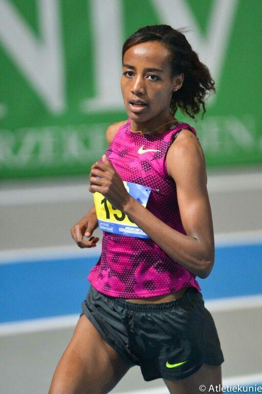 Sifan Hassan Nederlands kampioen 1500 m indoor