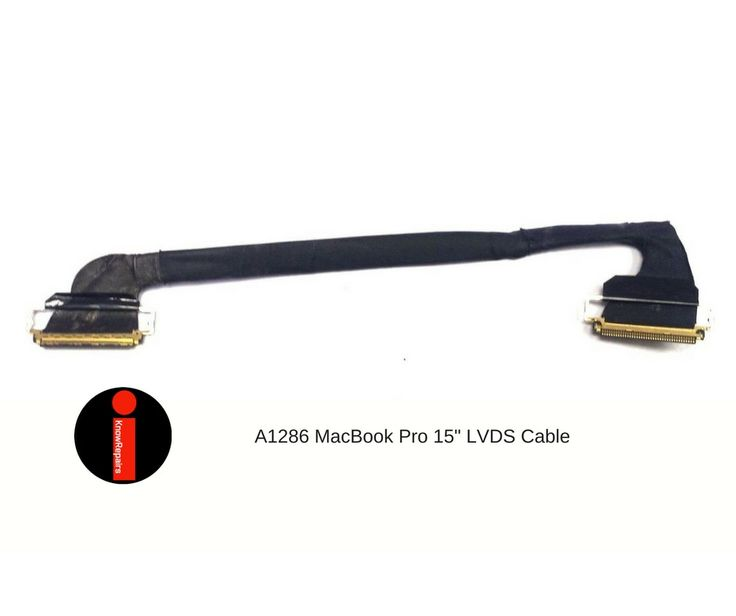 """Apple MacBook Pro A1286 15"""" LCD LVDS Screen Display Cable 2008 2009 2010 & 2011 #Apple"""