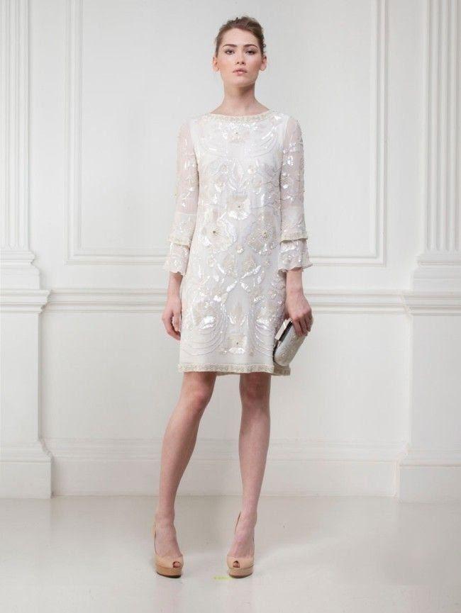 Mesmo se tratando de uma cerimônia mais íntima, no cartório ou salão, é preciso caprichar na escolha do vestido. Confira nossas dicas.