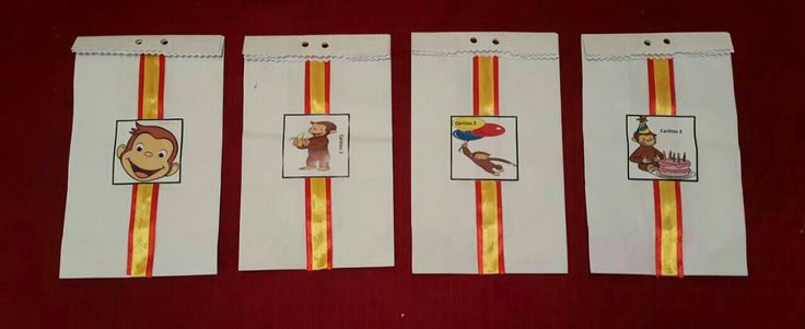 Curious George Goody Bags Birthday party