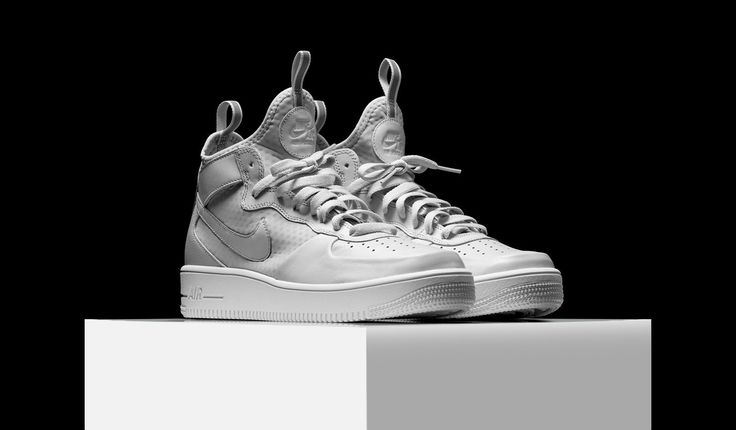 Pick up the Nike Air Force 1 Ultra Force Mid Pure Platinum today for the retail price of $110.