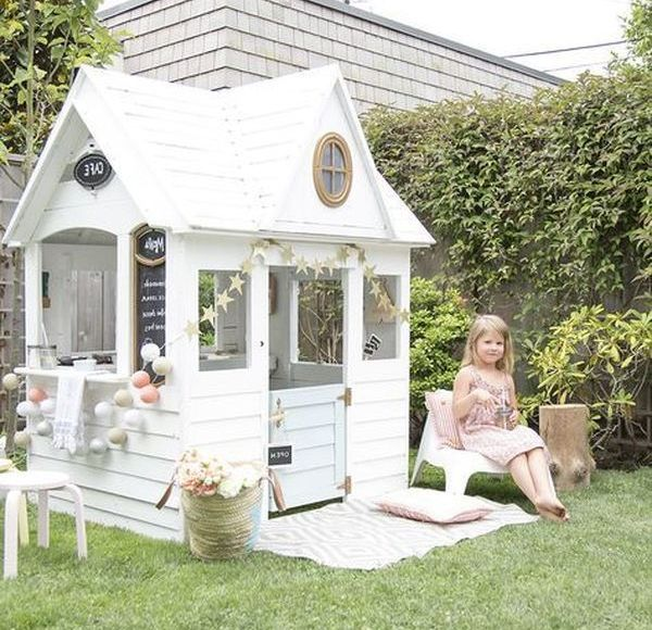 Marvelous Backyard Playhouses For The Kids My Baby Doo Play Houses Backyard Playhouse Build A Playhouse
