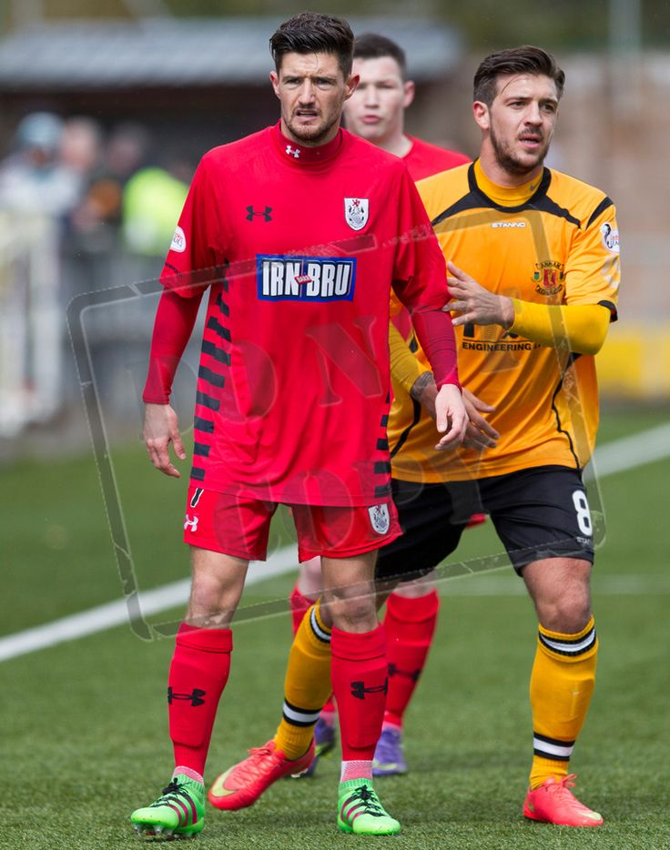 Queen's Park's Paul Woods during the SPFL League Two game between Annan Athletic and Queen's Park.