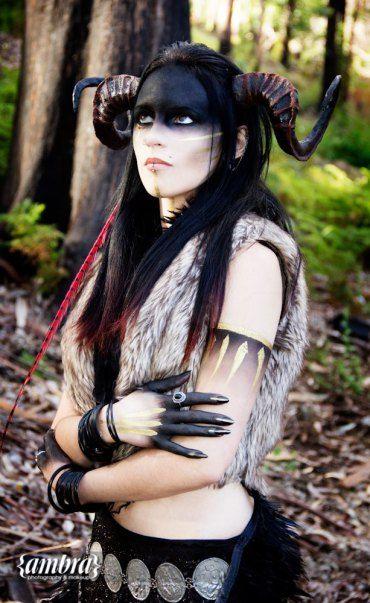 The pagan priestess by Mareli Basson.