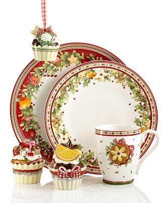 17 best ideas about christmas dinnerware on pinterest. Black Bedroom Furniture Sets. Home Design Ideas