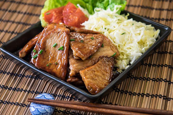 Receta de cerdo al jengibre o butaniku no shogayaki