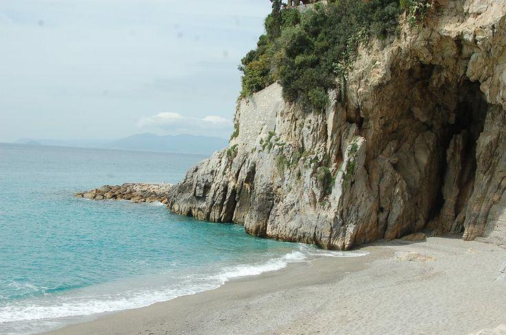 Spiaggia Castelletto , Finale Ligure