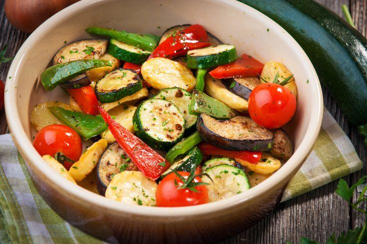 Wok de légumes et poulet