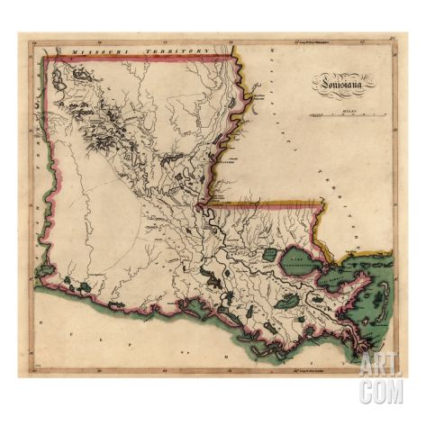 Best Louisiana State Map Ideas On Pinterest State Of - 1814 us map