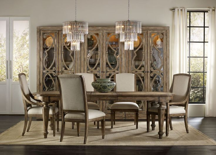 rooms dining sets rectangle dining table hooker furniture dining room