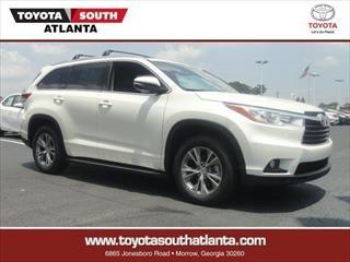 2014 Toyota Highlander XLE - New and Used Toyota dealership serving Atlanta Stockbridge Riverdale GA
