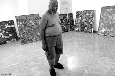 Mozambican Painter Malangatana Valente | Photo © Werner Puntigam During the struggle for independence he was imprisoned for 18 months for being a member of the Liberation Front of Mozambique, known as Frelimo. After it became the country's ruling political party, he served as a parliamentary deputy from 1990 to 1994. In 1997 he was named a Unesco Artist for Peace.