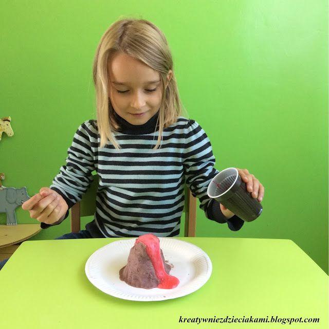Kreatywnie z dzieciakami: Eksperymentujemy z dzieciakami - Wulkany
