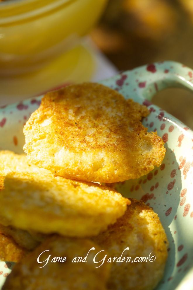 Southern Fried Cornbread was my Granny's specialty. She was only used to making small portions because my Dad is an only child. When I had this slew of kids, she had to get used to making a ton of this cornbread because it became my kid's favorite as well! www.gameandgarden.com  #southernfoods