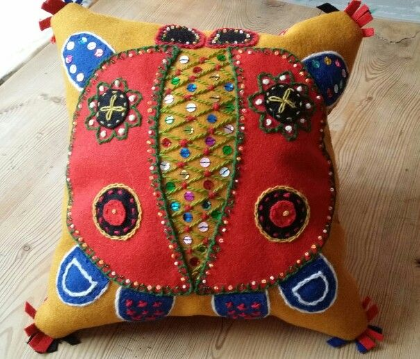 A small pillow.