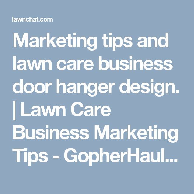 Lawn Care Door Hanger Design best 25+ lawn care business ideas only on pinterest | lawn mowing