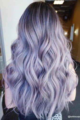 les 25 meilleures id es de la cat gorie cheveux violet pastel sur pinterest cheveux g niaux. Black Bedroom Furniture Sets. Home Design Ideas