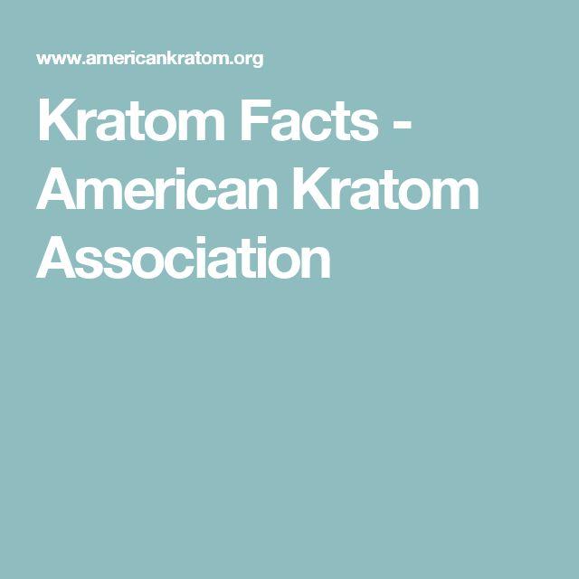 Kratom Facts - American Kratom Association