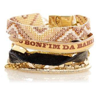 Or - Bracelet brésilien - Hipanema - Nouvelle Collection et ventes privées - Ref: 1432846 | Brandalley