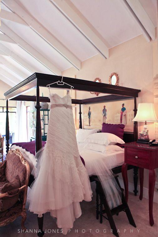 franschhoek wedding the dress