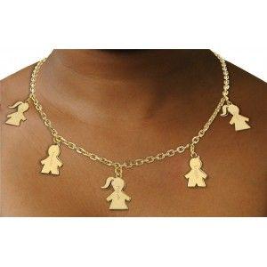 Le collier personnalisé Maman / Enfant