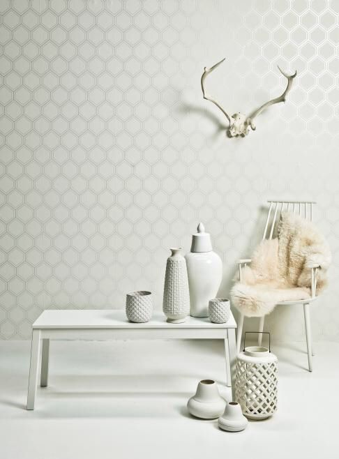 prachtig wit, clean, rustgevend, alles wat er nodig is!