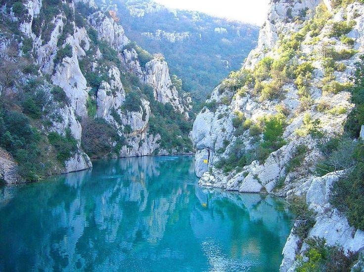 Вердонское ущелье (Гранд Каньон дю Вердон), Франция - Путешествуем вместе