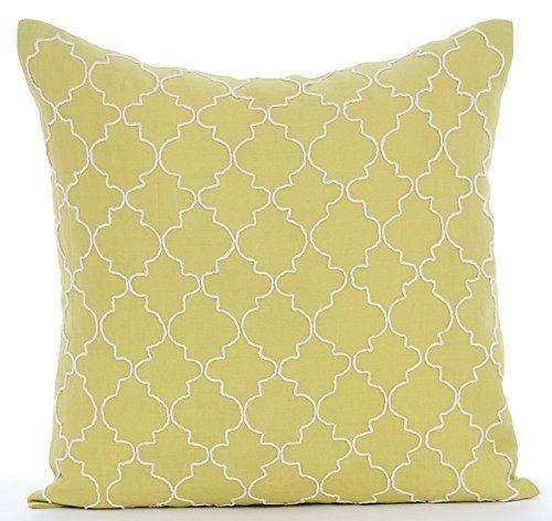 Designer Green Throw Pillows Cover for Couch, Lattice Tre... https://www.amazon.com/dp/B01645ZOGY/ref=cm_sw_r_pi_dp_x_vjlcybSJ2BVCZ