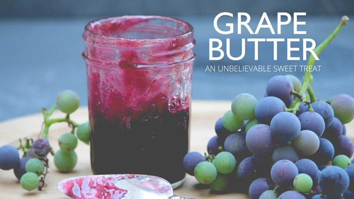 Grape Butter | The Gray Boxwood