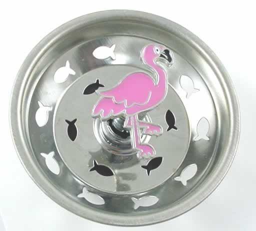 TropicalBreezeDecor - Pink Flamingo Kitchen Sink Strainer - Stainless Steel - 15SS, $12.49 (http://www.tropicalbreezedecor.com/pinkflamingokitchensinkstrainer-stainlesssteel-15SS.aspx/)
