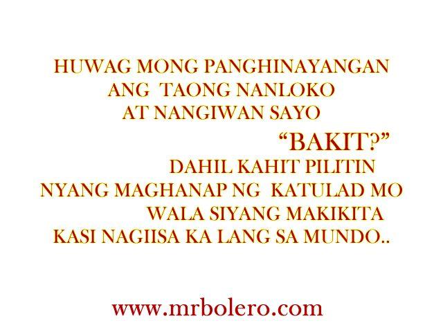 Patama Lines Hugot Umaasa Mga Tagalog Sa