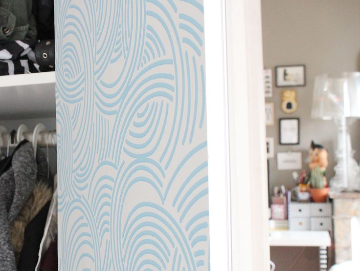 French blogger 39 azzed 39 chose to get creative with new pattern tourbil - Customiser une armoire ...
