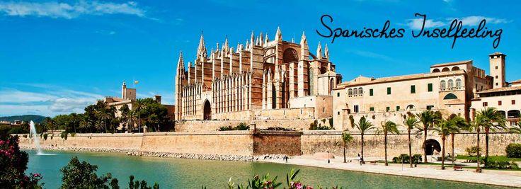 Palma ist mit 500.000 Einwohnern die mit Abstand größte Insel Mallorcas. Flanieren Sie durch die Straßen und entdecken Sie die zahlreichen Sehenswürdigkeiten wie die Kathedrale La Seu, die Plaza Major oder der Almudaina-Palast. Mit Ihrem inkludierten Mietwagen können Sie auch die nahegelegen Orte Peguera, Alcúdia, Llucmajor und Manacor besichtigen. 7 Nächte im 4* Hotel.