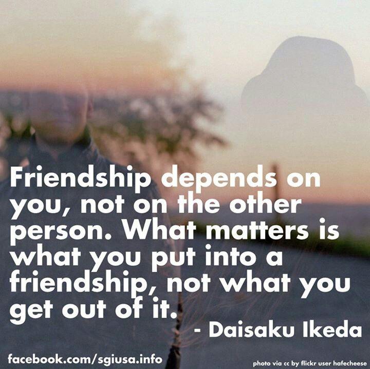 zen quotes on friendship