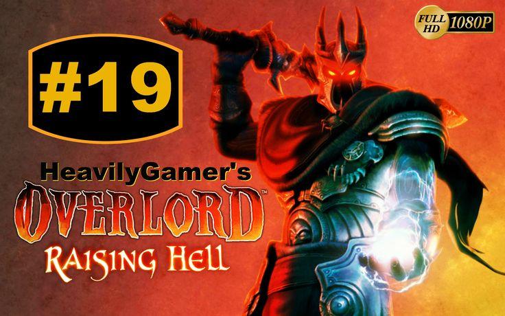 Overlord Raising Hell Gameplay Walkthrough Part 19:Goldo Boss Battle/Sav...