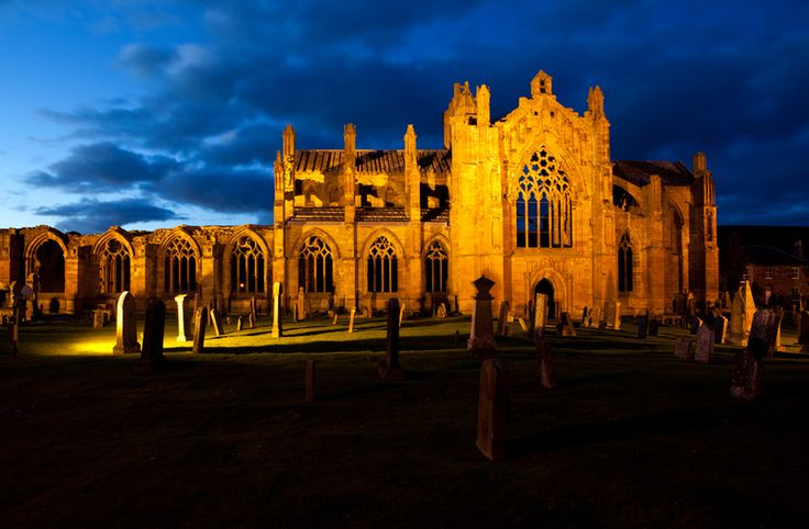 Melrose Abbey on Sacred Destinations.