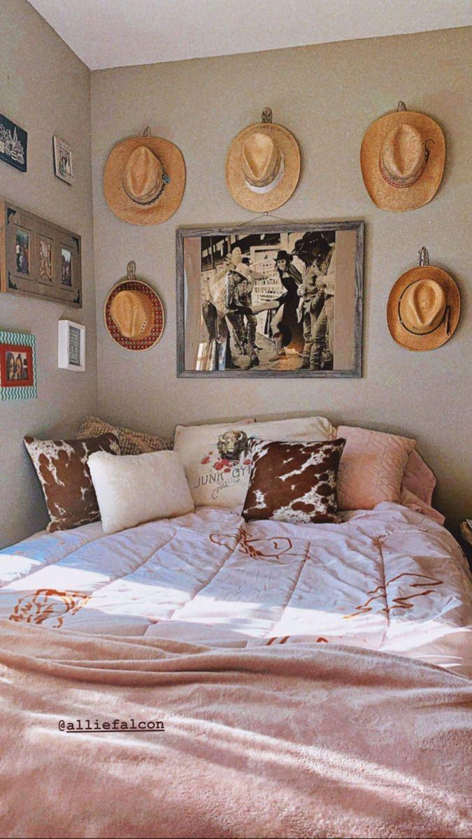 Dorm Room Inspo Western Bedding Western Bedroom Decor Room Inspiration Bedroom Western Rooms