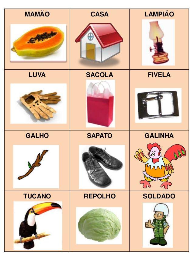Jogo 9: Palavra dentro de palavra    Objetivos didáticos:     - compreender que as palavras são compostas por unidades sonoras menores;   - ...