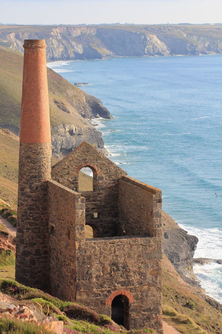Cornish tin mine, this was taken a couple of miles down from St Agnes just before sunset.