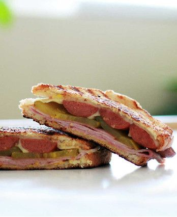 Cuban Hot Dog Sandwich http://wm13.walmart.com/Cook/Recipes/67633