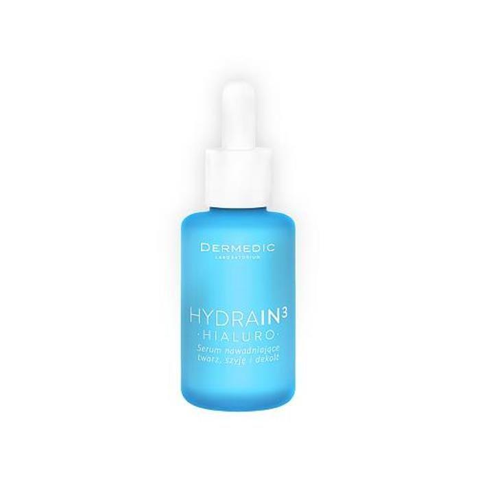 Dermedic Hydrain 3 Hialuro Serum nawadniające twarz szyja dekolt 30ml - od 29,97 zł, porównanie cen w 29 sklepach. Zobacz inne Dermokosmetyki, najtańsze i najlepsze oferty, opinie.