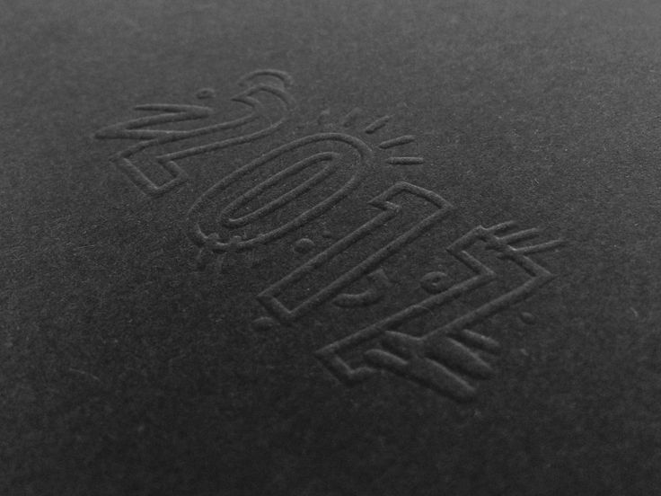 UNSW Arc Diary – print production – blind emboss
