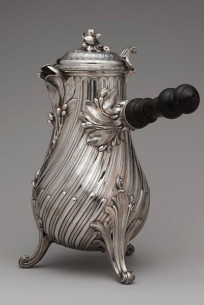 FRANÇOIS THOMAS GERMAIN. Pot à café. 1757.