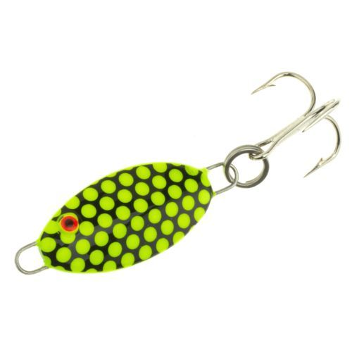 Bomber Lures 1/4 oz Slab Spoon Black/White - Fishing Tackle And Baits, Fresh Water Jigs And Spoons at Academy Sports